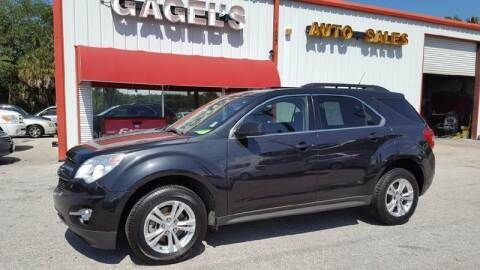 2012 Chevrolet Equinox for sale at Gagel's Auto Sales in Gibsonton FL