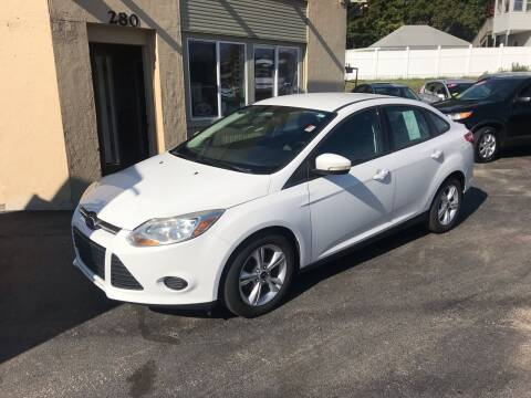 2013 Ford Focus for sale at Autowright Motor Co. in West Boylston MA