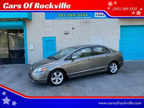 2008 Honda Civic for sale at Cars Of Rockville in Rockville MD