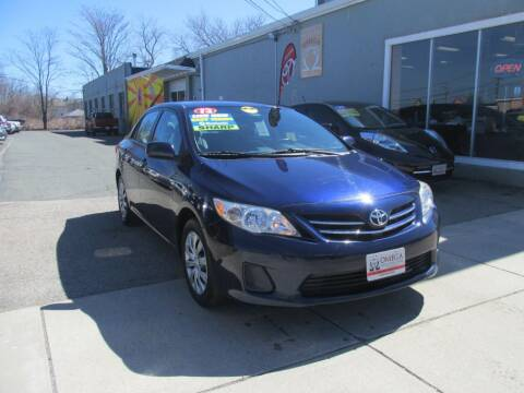 2013 Toyota Corolla for sale at Omega Auto & Truck Center, Inc. in Salem MA