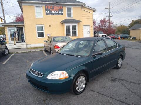 1998 Honda Civic for sale at Top Gear Motors in Winchester VA