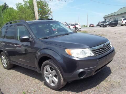 2009 Subaru Forester for sale at Warner's Auto Body of Granville Inc in Granville NY