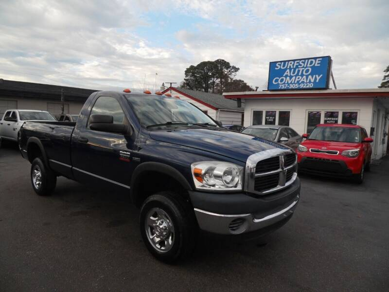 2008 Dodge Ram Pickup 2500 for sale at Surfside Auto Company in Norfolk VA