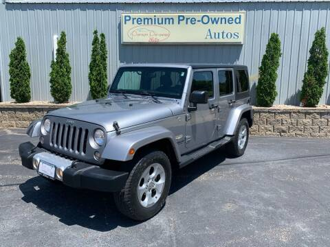 2015 Jeep Wrangler Unlimited for sale at PREMIUM PRE-OWNED AUTOS in East Peoria IL