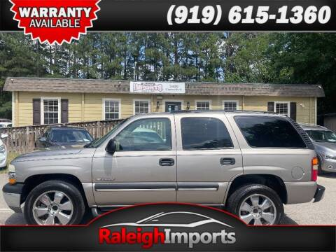 2003 Chevrolet Tahoe for sale at Raleigh Imports in Raleigh NC