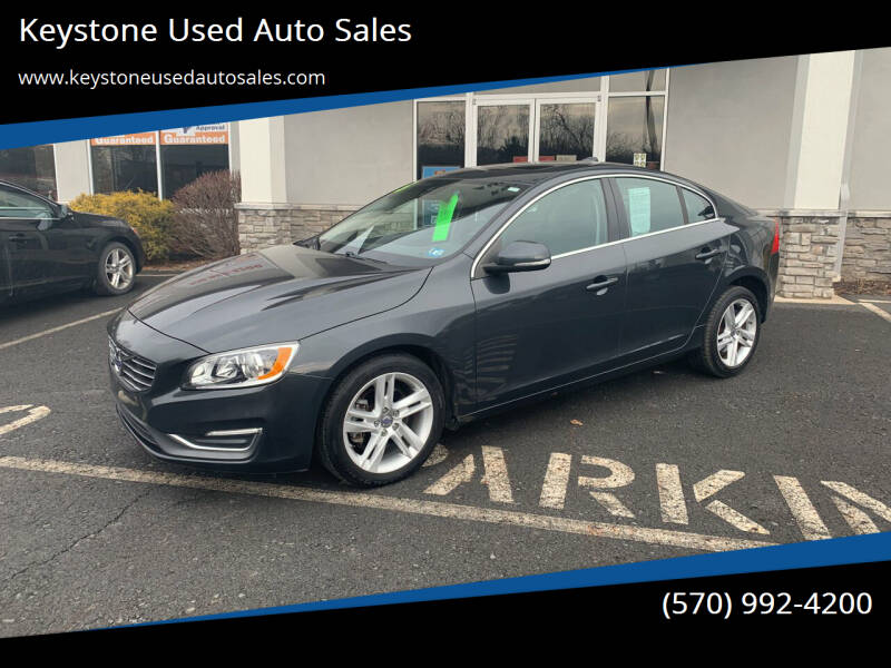 2015 Volvo S60 for sale at Keystone Used Auto Sales in Brodheadsville PA
