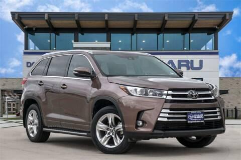 2019 Toyota Highlander for sale at Douglass Automotive Group - Douglas Subaru in Waco TX