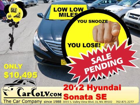 2012 Hyundai Sonata for sale at The Car Company in Las Vegas NV