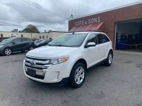 2014 Ford Edge for sale at Cote & Sons Automotive Ctr in Lawrence MA