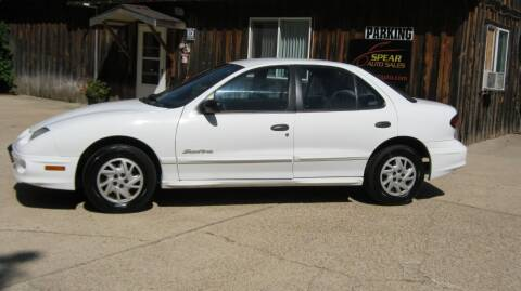 2000 Pontiac Sunfire for sale at Spear Auto Sales in Wadena MN