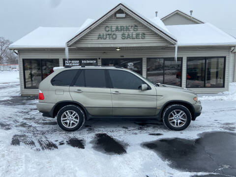 2004 BMW X5 for sale at Clarks Auto Sales in Middletown OH