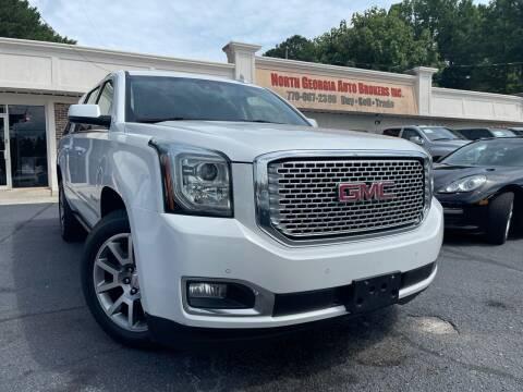 2017 GMC Yukon XL for sale at North Georgia Auto Brokers in Snellville GA
