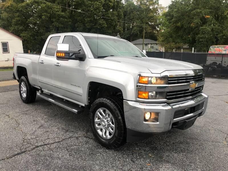 2017 Chevrolet Silverado 2500HD for sale at RC Auto Brokers, LLC in Marietta GA