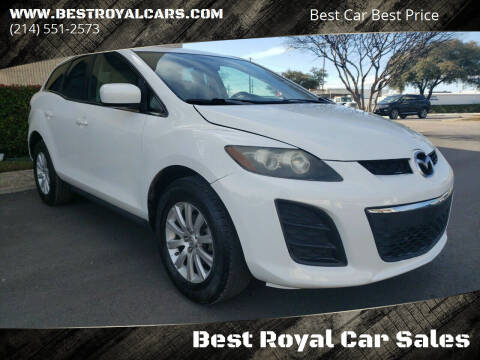 2010 Mazda CX-7 for sale at Best Royal Car Sales in Dallas TX