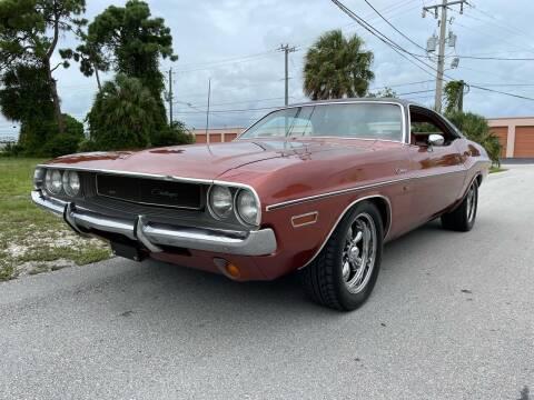 1970 Dodge Challenger for sale at American Classics Autotrader LLC in Pompano Beach FL