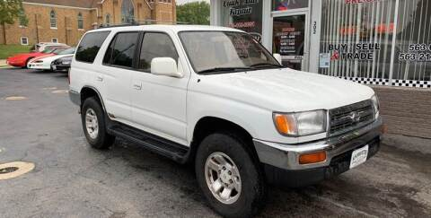 1998 Toyota 4Runner for sale at KUHLMAN MOTORS in Maquoketa IA
