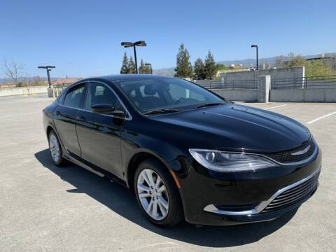 2015 Chrysler 200 for sale at PREMIER AUTO GROUP in Santa Clara CA