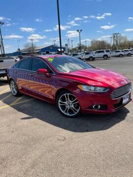 2015 Ford Fusion for sale at Piehl Motors - PIEHL Chevrolet Buick Cadillac in Princeton IL