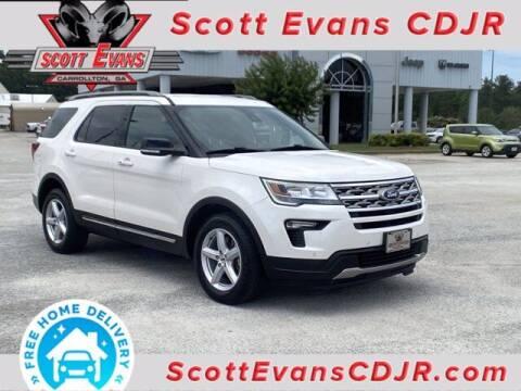 2018 Ford Explorer for sale at SCOTT EVANS CHRYSLER DODGE in Carrollton GA