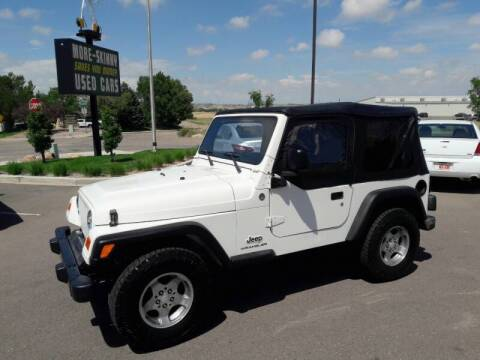 2005 Jeep Wrangler for sale at More-Skinny Used Cars in Pueblo CO