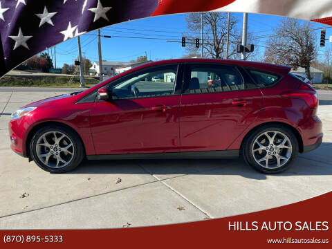 2014 Ford Focus for sale at Hills Auto Sales in Salem AR