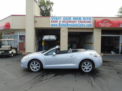 2007 Mitsubishi Eclipse Spyder for sale at Bickel Bros Auto Sales, Inc in Louisville KY