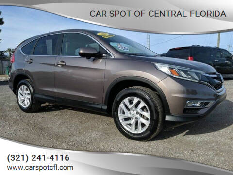 2015 Honda CR-V for sale at Car Spot Of Central Florida in Melbourne FL