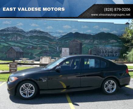 2008 BMW 3 Series for sale at EAST VALDESE MOTORS in Valdese NC