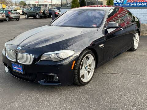 2011 BMW 5 Series for sale at Mack 1 Motors in Fredericksburg VA