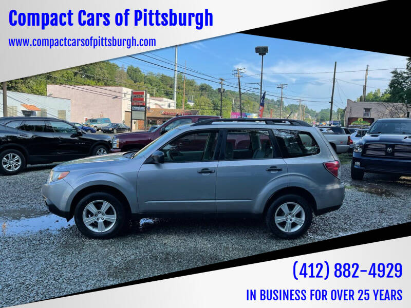 2011 Subaru Forester for sale at Compact Cars of Pittsburgh in Pittsburgh PA