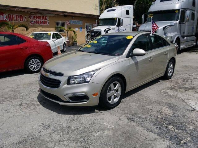 2016 Chevrolet Cruze Limited for sale at VALDO AUTO SALES in Miami FL