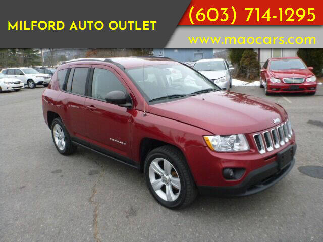 2011 Jeep Compass for sale at Milford Auto Outlet in Milford NH