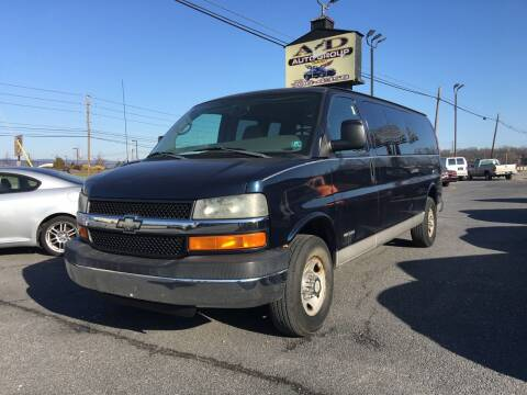 2006 Chevrolet Express Passenger for sale at A & D Auto Group LLC in Carlisle PA