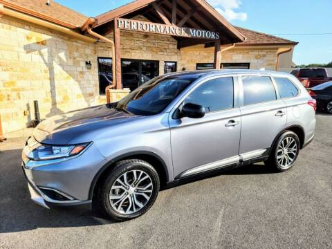 2018 Mitsubishi Outlander for sale at Performance Motors Killeen Second Chance in Killeen TX