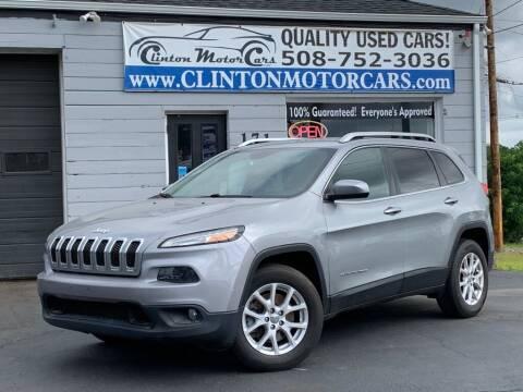 2015 Jeep Cherokee for sale at Clinton MotorCars in Shrewsbury MA