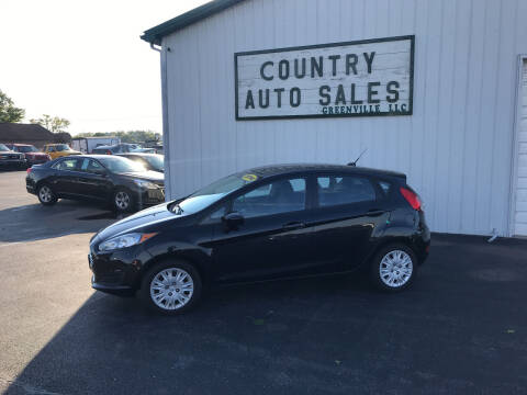 2014 Ford Fiesta for sale at COUNTRY AUTO SALES LLC in Greenville OH