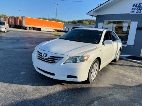2008 Toyota Camry Hybrid for sale at Hensley Auto Sales in Frankfort KY