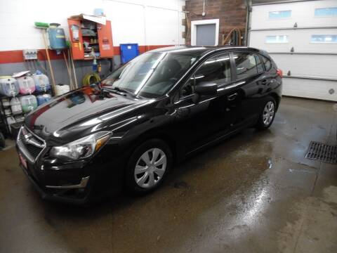 2016 Subaru Impreza for sale at East Barre Auto Sales, LLC in East Barre VT