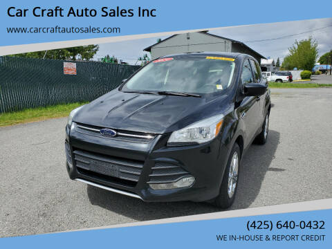 2014 Ford Escape for sale at Car Craft Auto Sales Inc in Lynnwood WA
