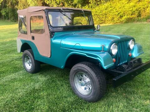 1965 Jeep CJ-5 for sale at Countryside Classics in Russellville KY
