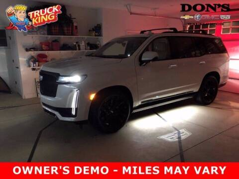 2021 Cadillac Escalade for sale at DON'S CHEVY, BUICK-GMC & CADILLAC in Wauseon OH