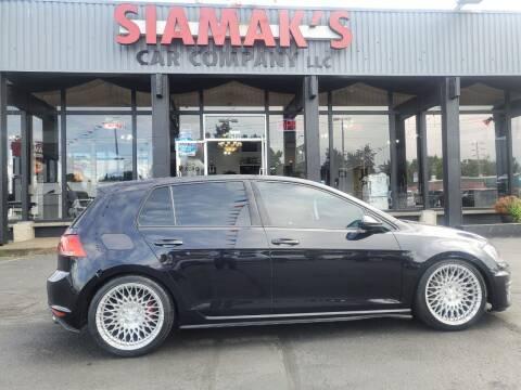 2016 Volkswagen Golf GTI for sale at Siamak's Car Company llc in Salem OR