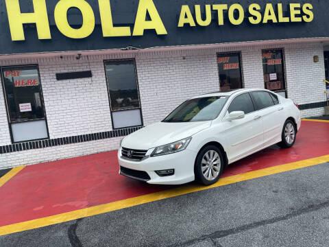 2013 Honda Accord for sale at HOLA AUTO SALES CHAMBLEE- BUY HERE PAY HERE - in Atlanta GA