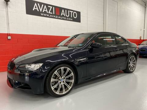 2009 BMW M3 for sale at AVAZI AUTO GROUP LLC in Gaithersburg MD
