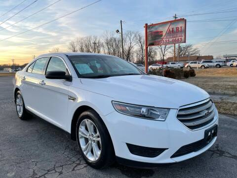 2016 Ford Taurus for sale at Albi Auto Sales LLC in Louisville KY