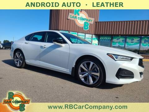 2021 Acura TLX for sale at R & B Car Co in Warsaw IN