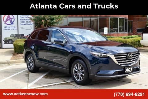 2018 Mazda CX-9 for sale at Atlanta Cars and Trucks in Kennesaw GA