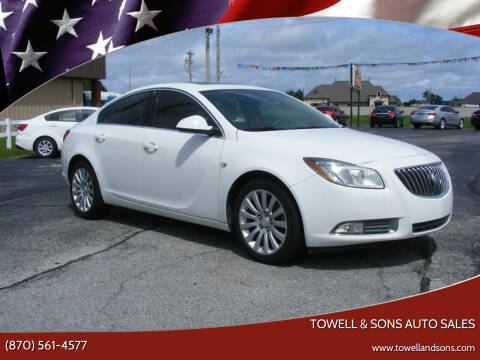 2011 Buick Regal for sale at Towell & Sons Auto Sales in Manila AR