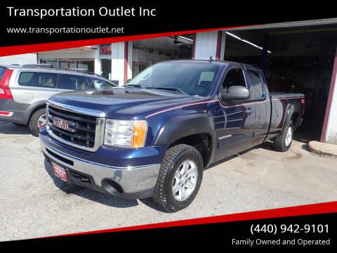 2010 GMC Sierra 1500 for sale at Transportation Outlet Inc in Eastlake OH