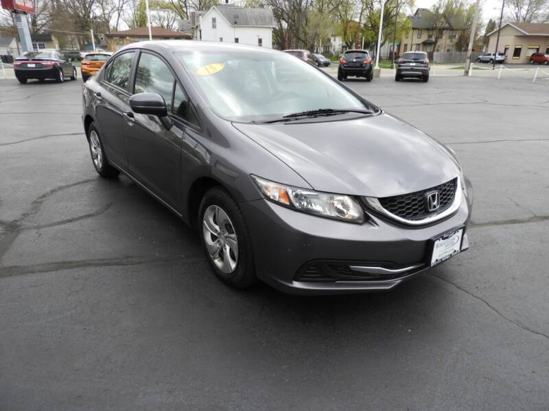 2015 Honda Civic for sale at Grant Park Auto Sales in Rockford IL